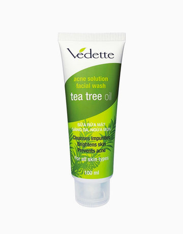 Acne Solution Facial Wash Tea Tree Oil by Vedette