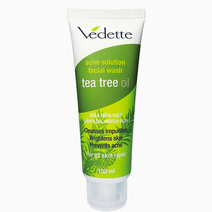 Acne Solution Facial Wash Tea Tree Oil by Vedette in