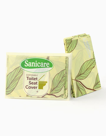 Toilet Seat Cover (5 sheets each) by Sanicare