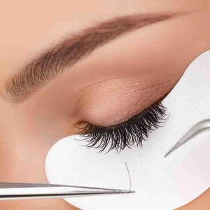 Japanese 3D Soft Silk Eyelash Extensions + Free Touch-Up by Gionyx Hair and Nail Salon