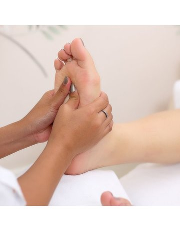 7 step foot spa with pedicure