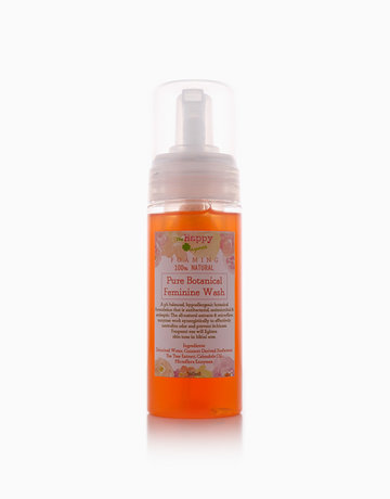 Foaming Pure Botanical Feminine Wash (160ml) by The Happy Organics