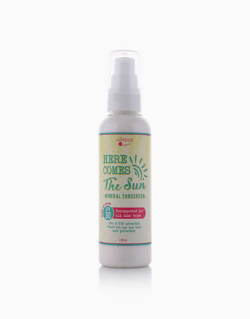Mineral Sunscreen (100ml) by The Happy Organics