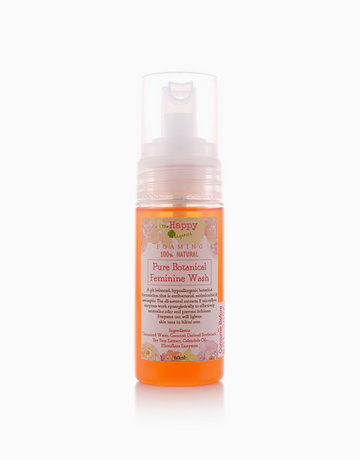 Foaming Pure Botanical Feminine Wash (60ml) by The Happy Organics