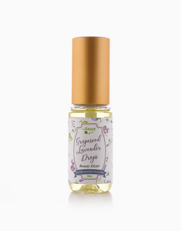 Grapeseed Lavender Drops Beauty Elixir by The Happy Organics