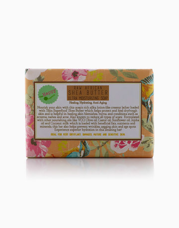 Raw African Shea Butter Soap by The Happy Organics