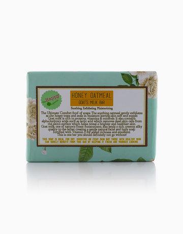 Honey Oatmeal Goat's Milk Soap by The Happy Organics