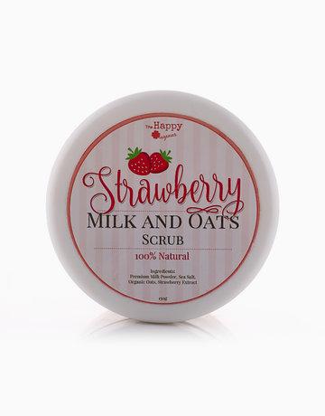 Strawberry Milk & Oat Scrub by The Happy Organics