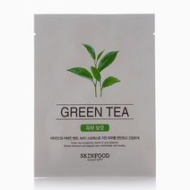 Green Tea Mask Sheet by Skinfood