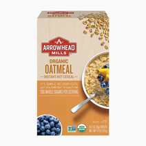 Arrowhead oatmeal instant hot cereal (organic) 10oz