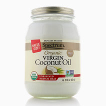 Organic Unrefined Virgin Coconut Oil Value Size (29oz) by Spectrum