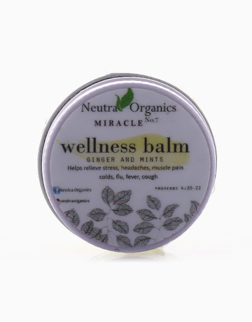 Wellness Balm in Ginger (15g) by Neutra Organics