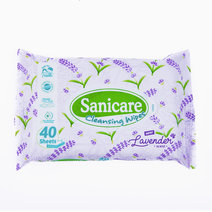 Lavender Cleansing Wipes (40's) by Sanicare
