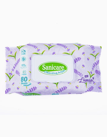 Sanicare Lavender Cleansing Wipes 80s by Sanicare
