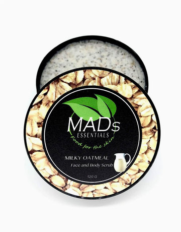 Milky Oatmeal Scrub by MADs Essentials