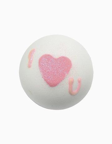 Heart that Glitters Bath Blaster by Bomb Cosmetics