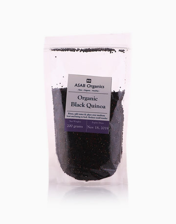 Black Quinoa (200g) by ASAB Organics