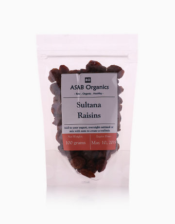 Sultana Raisins (100g) by ASAB Organics