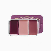 Skinfood fresh fruit lip   cheek trio 07driedplum