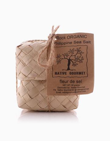 Organic Rock Sea Salt in Native Nipa Box (80g) by Native Gourmet