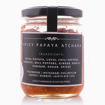 Spicy Papaya Atchara (Spicy Pickled Papaya) by Chili Asylum