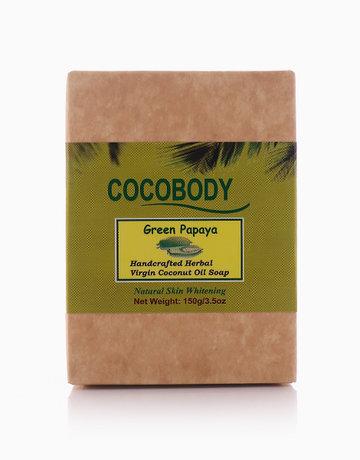 Papaya Body Bar Soap (150g) by Cocobody