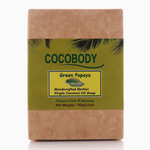 Papaya Body Bar Soap (150g) by Cocobody