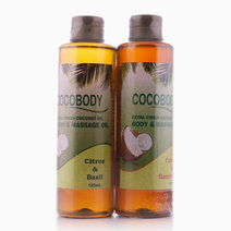Body Oil Bundle: Citrus & Orange by Cocobody