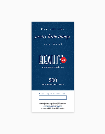 BeautyMNL Gift Card (P200) by BeautyMNL