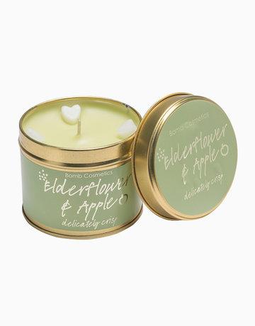 Elderflower & Apple Tinned Candle by Bomb Cosmetics