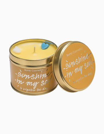 Sunshine in my Soul Tinned Candle by Bomb Cosmetics