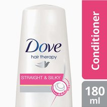 Hero 21141195 dove hair conditioner straight   silky 180ml 4800888186102