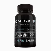 Omega 3 Fish Oil + Vitamin E by Herbs of the Earth