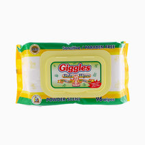 Baby Wipes Powder Scent (96 Wipes) by Giggles