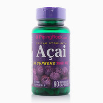 Triple Strength Acai Supreme: 3000mg (90 Capsules) by Piping Rock