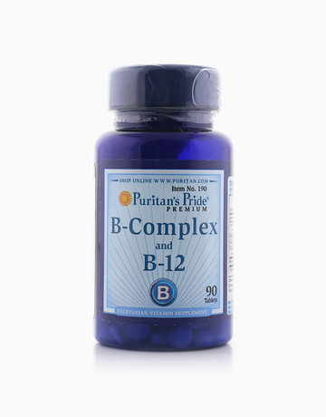 Vitamin B-Complex and Vitamin B-12 (90 Tabs) by Puritan's Pride