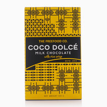 Milk Chocolate With Rice Crisps (100g) by Coco Dolcé in