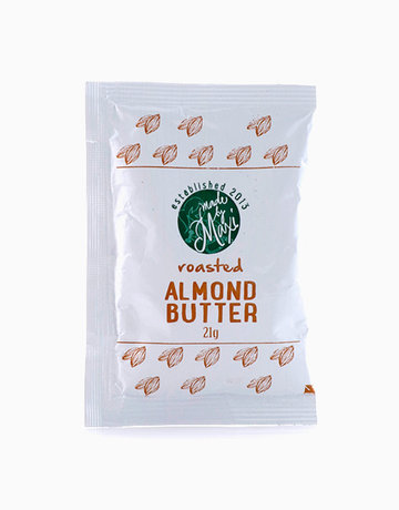 Almond Butter Plain Roasted (21g) by Made by MAXI