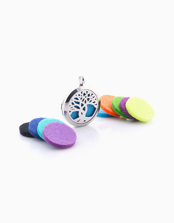 Essential Oil Diffuser Pendant by Feet and Right