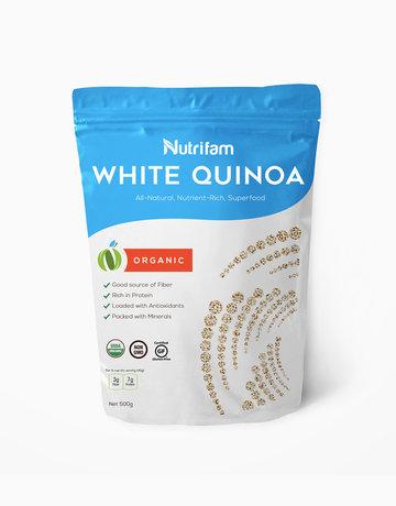Organic White Quinoa (500g) by Nutrifam