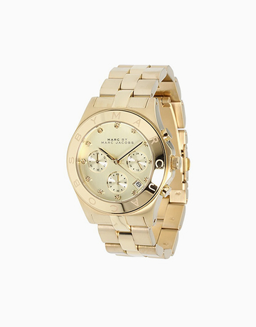 Blade Chrono (Yellow Gold) by Marc Jacobs