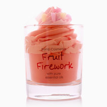 Fruit Firework Piped Candle by Bomb Cosmetics
