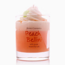 Peach Bellini Piped Candle by Bomb Cosmetics