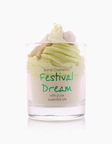 Festival Dream Piped Candle by Bomb Cosmetics
