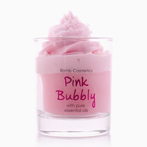 Pink Bubbly Piped Candle by Bomb Cosmetics