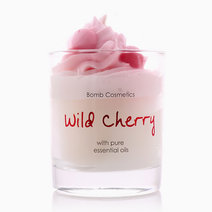 Wild Cherry Piped Candle by Bomb Cosmetics