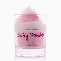 Baby Powder Piped Candle by Bomb Cosmetics