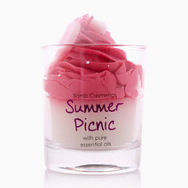 Summer Picnic Piped Candle by Bomb Cosmetics