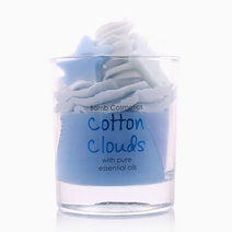 Cotton Clouds Piped Candle by Bomb Cosmetics