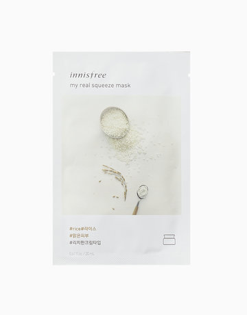 My Real Squeeze Rice Mask by Innisfree
